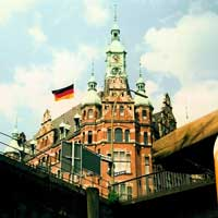 The Speicherstadt is part of the free port. Duty does not have to be paid on goods while they are stored here.